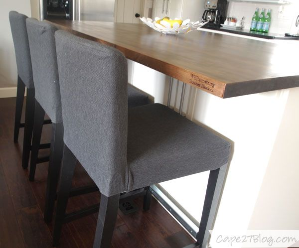 IKEA Bar Stools With Washable Slipcover Decor Pinterest - Bar Height Furniture Covers. Kitchen Dining Tables Wayfair