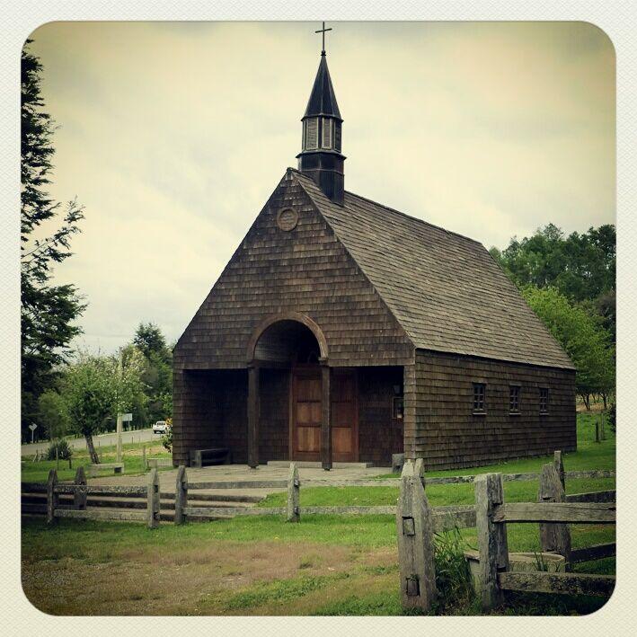 Iglesia, Coique, Lago Ranco