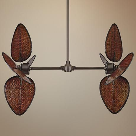 Fanimation Palisade Oil-Rubbed Bronze Double Ceiling Fan