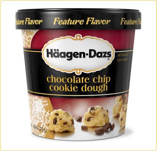 ice cream packaging  | Haagen Dazs Ice Cream Packaging by Gene Dupont