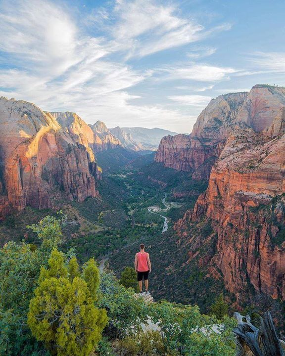 Would stand here for days | Zion National Park |  A Sense of Huber Say Yes To Adventure