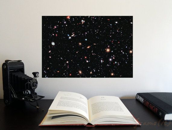 The Hubble eXtreme Deep Field 19 x 13 Poster  by frameitposters, $24.00