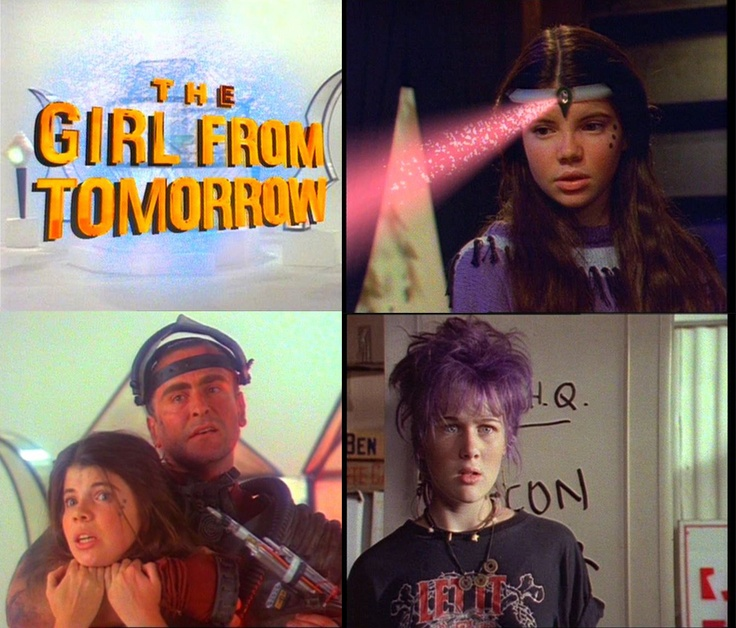 The Girl From Tomorrow - 80's tv programme