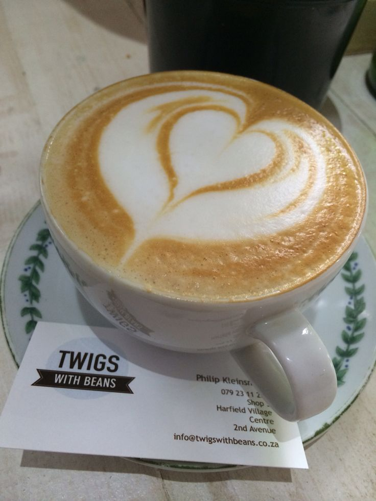 Coffee at Twiggs cafe in Harfield Village in Cape Town. #capetown #tribecoffee www.tribecoffee.co.za