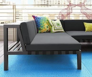 Outdoor sofa!