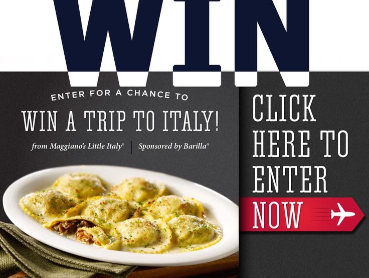 Win a Trip To Italy! This is your chance with ladiesfreebies.com! Please like, repin and share! Thanks! #win #italy #sweesptakes #giveaway