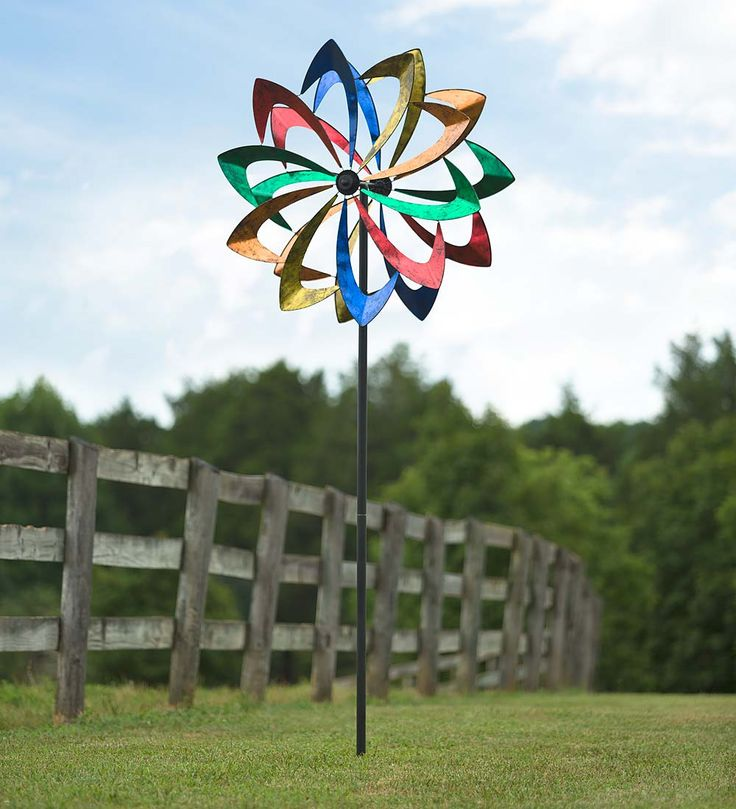Giant Metal Wind Spinner   Wind Spinners