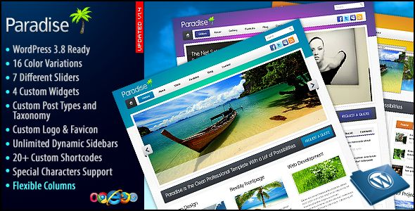 Deals Paradise Premium WP Themein each seller & make purchase online for cheap. Choose the best price and best promotion as you thing Secure Checkout you can trust Buy best