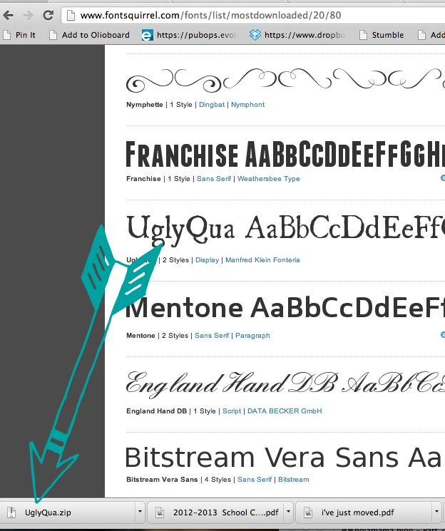 Free font for mac downloads