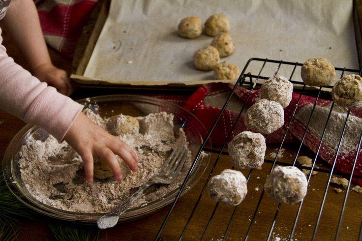 Mexican wedding cookies / Balles de neige