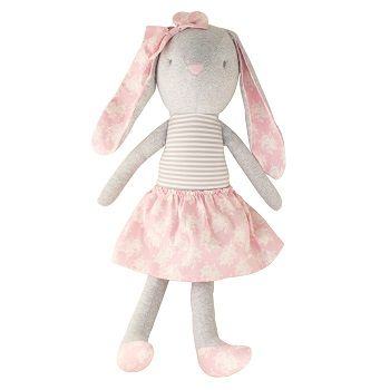 Pearl Bunny Cuddle Toy Pink $58.95 #sweetcreations #baby #toddlers #kids #softtoys #toys #cuddle