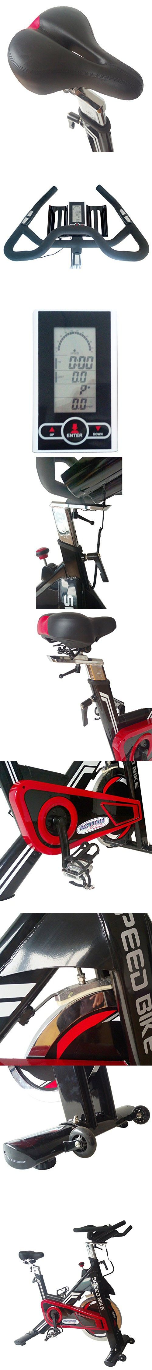 ActionLine A84018 Pro Gym Club Indoor Cycling Bike wirh Computer