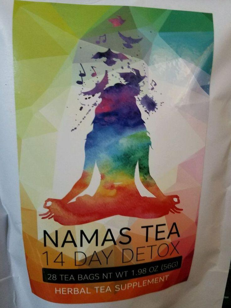 Namas Tea 14 Day Detox Tea 28 bags 14 day supply Supplement Organic Cleanse New #NamasTea
