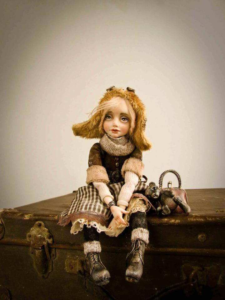 THE BEAUTIFUL PEOPLE PROJECT: Helena Oplakanska, Artist, Doll's Creator, Odessa…