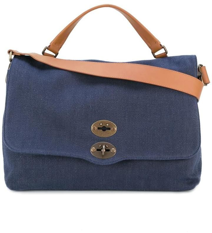 Zanellato removable strap tote
