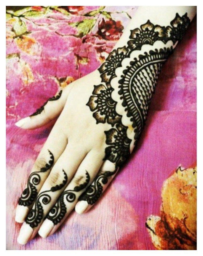 Indian Latest Mehndi Designs For Women 2016