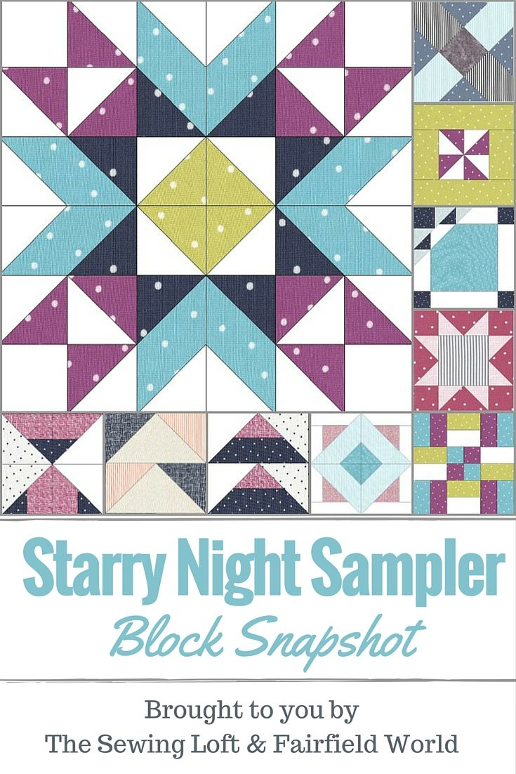 Come join the fun and Increase your skill set with a block of the Month sewing series on The Sewing Loft.