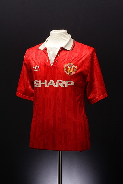 Manchester United Football Shirt (home, 1992-1994)