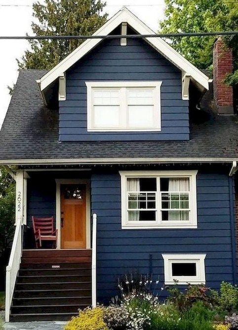 55 Cheap Tiny House Design For Families In 2020 House Exterior