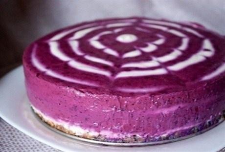 «Черничный творожный торт без выпечки» рецепт – выпечка и десерты. «Афиша-Еда»