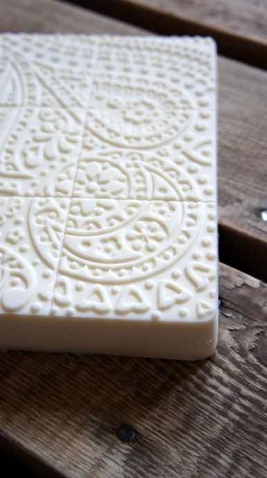 Pure baby soap without fragrance and colors