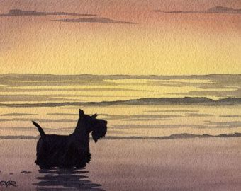 Impresión del arte del Boston Terrier BOSTON TERRIER en el