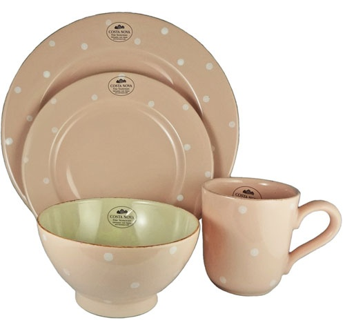 Costa nova village stoneware dinner set dinnerware for Alpine cuisine fine porcelain
