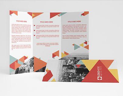 "Check out new work on my @Behance portfolio: ""Modern Trifold Brochure"" http://on.be.net/1OWlTLV"