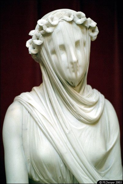 Veiled Lady At Chatsworth In England One Of My Favorite
