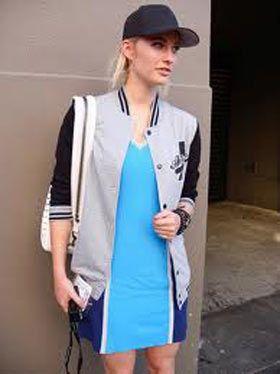 ビビッドカラーとブルゾンに合わせてアクティブに♡可愛くアクティブなキャップのコーデ☆スタイル・ファッションの参考に♪