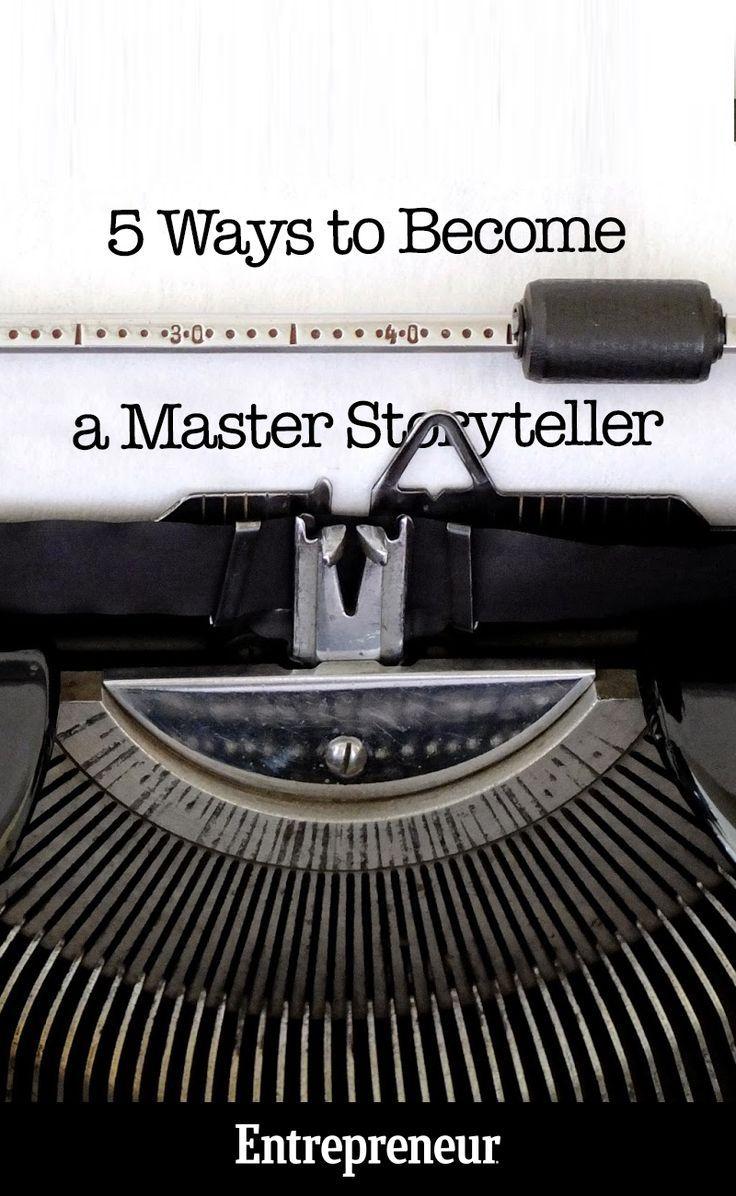 003 5 Ways to a Master Storyteller Storytelling