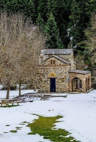 Lost in Forest... Church of Zoodohos Pigi, Elati, Arcadia, Greece | by George Papapostolou on 500px