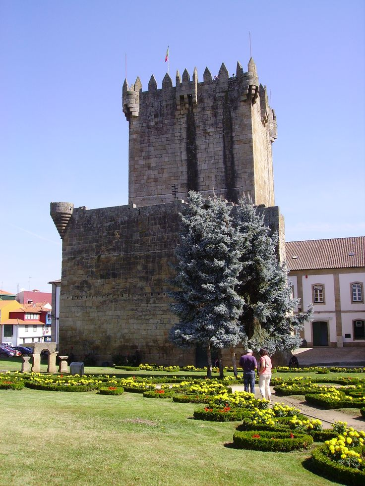 Castelo em Chaves....castle in Chaves - Portugal