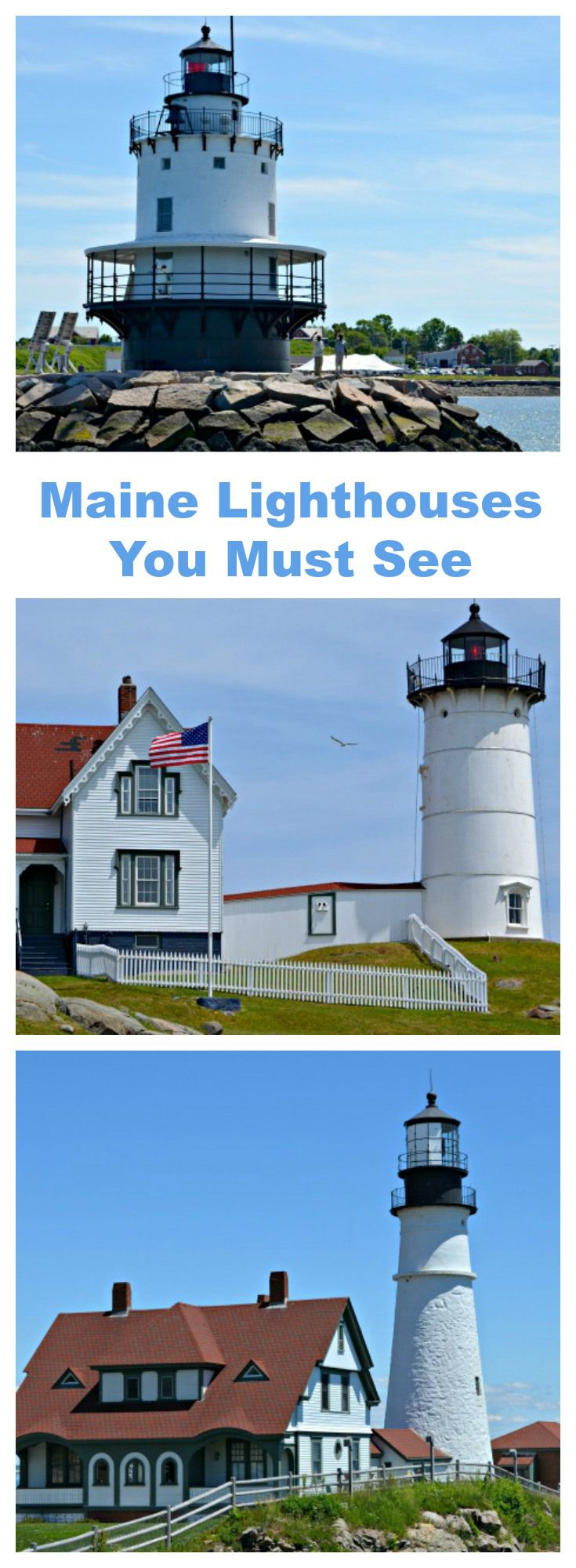 #Maine was one of the best vacations ever!  We saw stunning #lighthouses with breathtaking views which was a big part of why we enjoy Maine so much.  Please stop by and watch my video and see for yourself why we loved our Maine vacation.