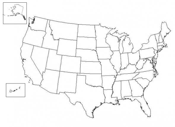 Printable Blank Us Map I M Going To Need This Someday Since