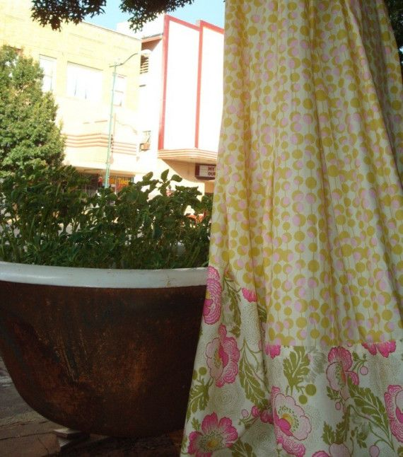 Custom Made Shower Curtain Choose Your Fabric By ShoweredInChic, $99.00
