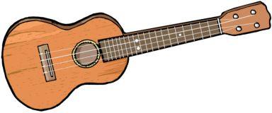 SOPRANO UKELELE The ukulele (/juːkəˈleɪliː/, ew-kə-lay-lee, from Hawaiian: ʻukulele [ˈʔukuˈlɛlɛ], oo-koo-le-le; British English: ukelele)[1] sometimes abbreviated to uke, is a member of the guitar family of instruments; it generally employs four nylon or gut strings or four courses of strings.[2] The ukulele originated in the 19th century as a Hawaiian interpretation of the machete,[3] a small guitar-like instrument related to the cavaquinho, timple, braguinha and the rajão, taken to Hawaii…