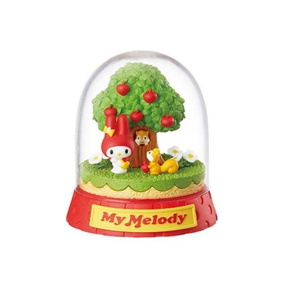 Sanrio Character Terrarium Rement 4-Inch Collectible Toy My Melody