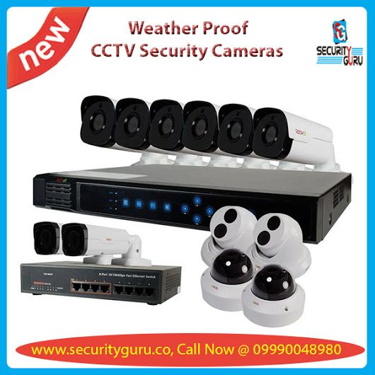 Buy best quality weather proof CCTV security products, Surveillance Cameras, Wireless Surveillance Systems, CCTV Camera, Bullet CCTV Camera, Indoor CCTV Camera and Dome CCTV Camera at lowest price with Security Guru.