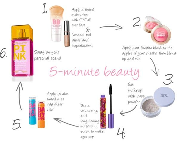 Five Minute Face (plus spray!)