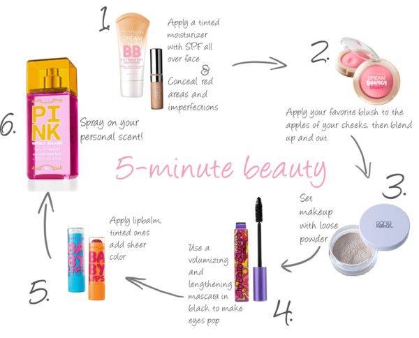 Five Minute Face (plus spray!)