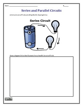 series and parallel circuits worksheet science pinterest worksheets. Black Bedroom Furniture Sets. Home Design Ideas