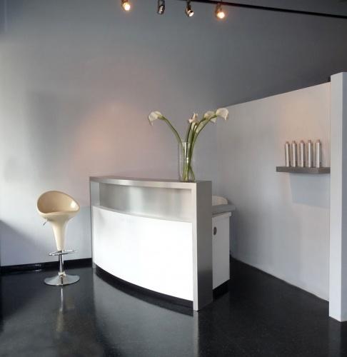 Salon Very modern reception desk  Stuff to Buy  Beauty