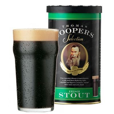 Coopers #irish #stout - beer kit refill - 23l / 5 #gallons / 40 pints,  View more on the LINK: 	http://www.zeppy.io/product/gb/2/272085468988/