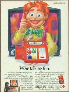 See 'N Say Video Phone advert