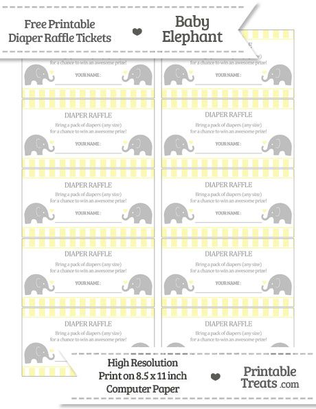 87 best Baby shower images on Pinterest Twinkle twinkle little - printable raffle ticket template free