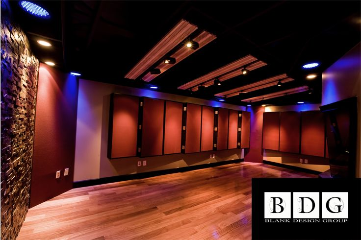Acoustic Curtains For Studio Recording : Vanquish recording studio davies fl live room featuring