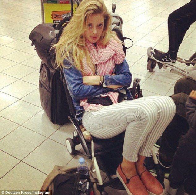 Victoria's Secret model Doutzen Kroes in her BabyZen YOYO stroller http://batchgeo.com/map/e3b05494877291ad57fe1764a0e5e2f7