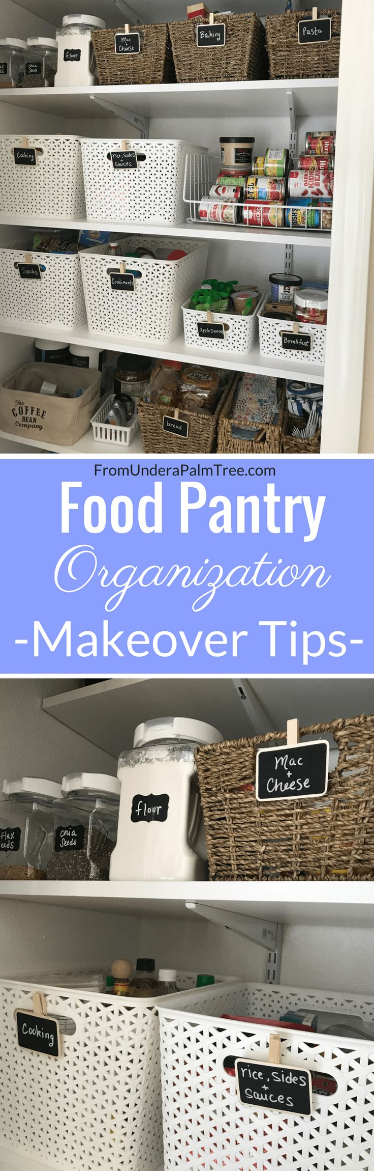 food pantry | food pantry organization | how to organize my pantry | pantry organization tips | clean my pantry | organization tips | organized living | organize | organizational living | organization | kitchen organization | how to organize my kitchen | organized kitchen | organized closet | organized food pantry | organized pantry |