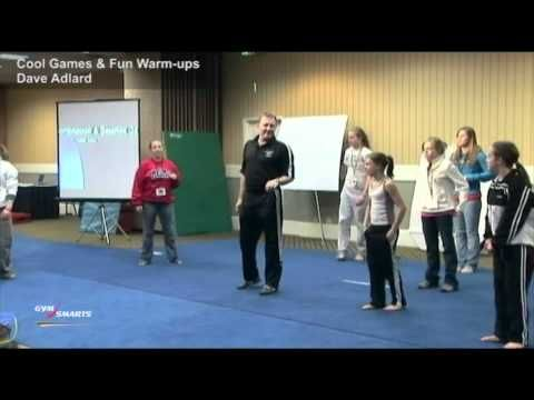 "A clip from Cool Games & Fun Warm-ups    Are you interested in raising morale? Raising income? Creating excitement in your programs? Boosting attendance and retention? Here are ""tried-and-true"" methods to make your gym one of the happiest places ever!    $54.95    These two DVDs features games and fun activities for warm-up, conditioning, skill develo..."